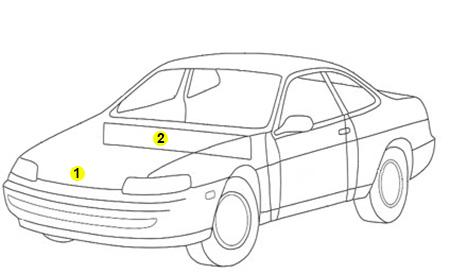 Daewoo Matiz Touch Up Paint