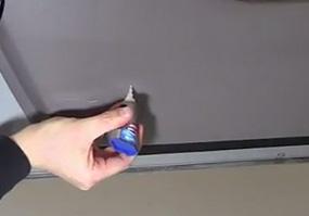 how to repair scratched interior door panels