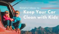 Helpful Ideas to Keep Your Car Clean with Kids