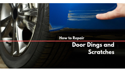 How to Repair Door Dings and Scratches Yourself