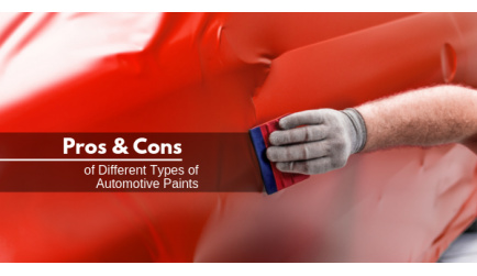 Pros & Cons of Different Types of Automotive Paints