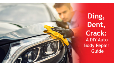 How to Do Simple Body Repair on Your New Car