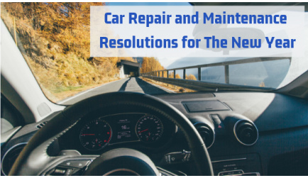 Car Repair and Maintenance Resolutions for The New Year