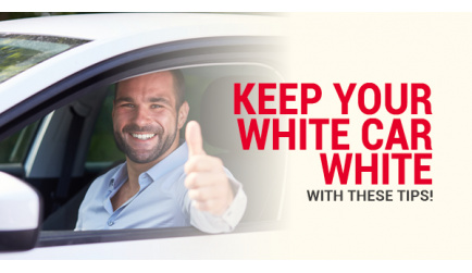 Keep Your White Car White with These Tips!