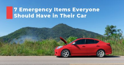 7 Emergency Items Everyone Should Have in Their Car