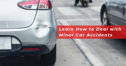 Learn How to Deal with Minor Car Accidents