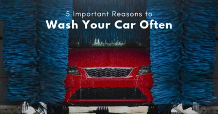 5 Important Reasons to Wash Your Car Often