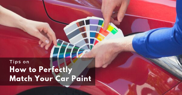 Tips on How to Perfectly Match Your Car Paint