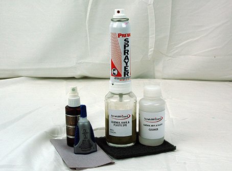 Leather Dye Advanced Kit