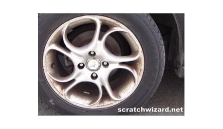 How to paint aluminum wheels