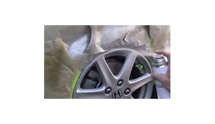 How to Repair Your Car's Scraped Wheels