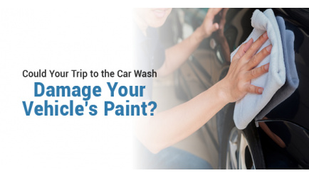 Could Your Trip to the Car Wash Damage Your Vehicle's Paint?