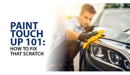 Paint Touch Up 101: How To Fix That Scratch