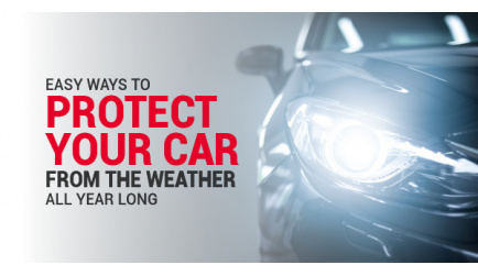 Easy Ways To Protect Your Car From the Weather All Year Long